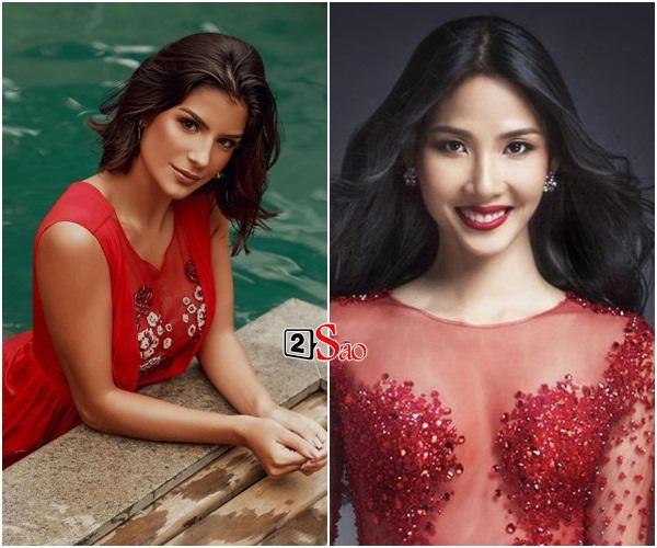 Nhắn tin làm quen đối thủ Brazil tại Miss Universe 2019, Hoàng Thùy nhận cái kết bất ngờ từ cực phẩm mỹ nhân-3