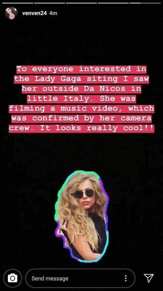Rò rỉ loạt ảnh được cho là bối cảnh MV mới của Lady Gaga: Một sản phẩm hành động rượt đuổi?-2