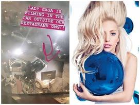 Rò rỉ loạt ảnh được cho là bối cảnh MV mới của Lady Gaga: Một sản phẩm hành động rượt đuổi?