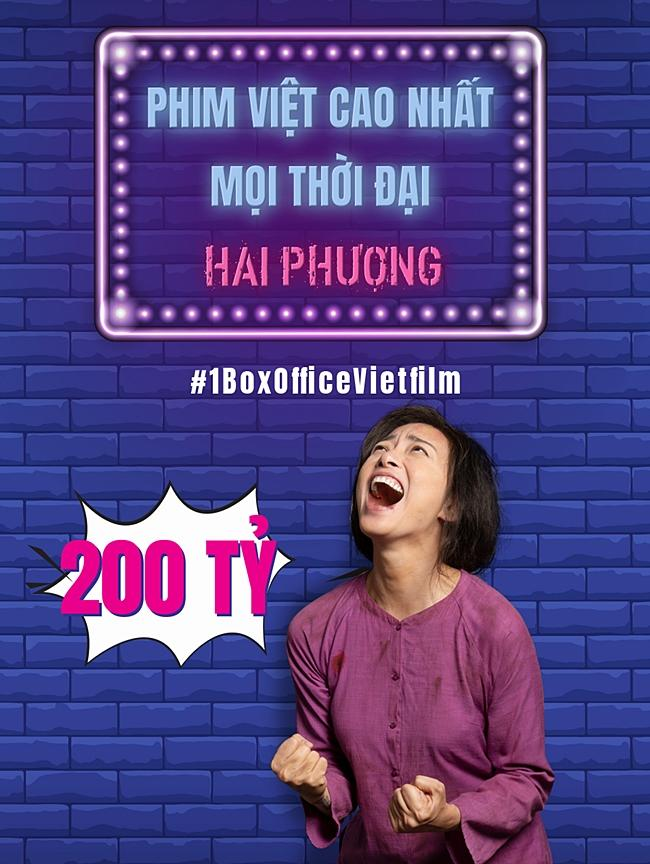 Doanh thu hơn 200 tỷ đồng, Hai Phượng vượt mặt Cua Lại Vợ Bầu trở thành phim Việt ăn khách nhất lịch sử-3