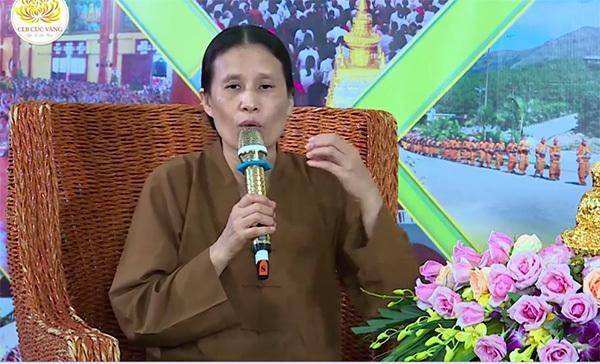 Bà Phạm Thị Yến vắng mặt bất thường ở chùa Ba Vàng?-1