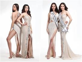 Đương kim Hoa hậu Hoàn vũ thần thái cuốn hút lấn át Hoa hậu Indonesia
