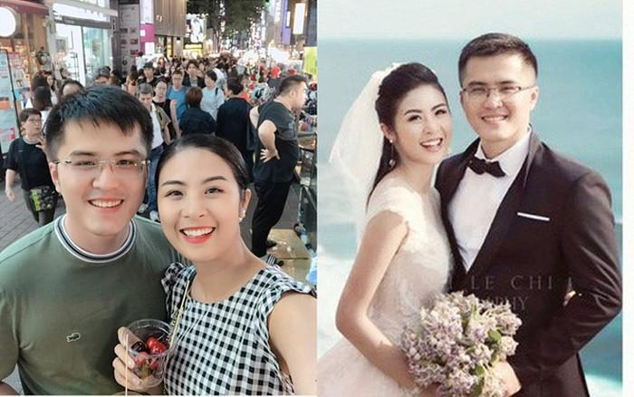 Hoa hậu Ngọc Hân bác tin lấy chồng dù trước đó công khai đăng ảnh đeo nhẫn cưới bên người tình giấu mặt-9