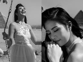 Hoa hậu Ngọc Hân bác tin lấy chồng dù trước đó công khai đăng ảnh đeo nhẫn cưới bên người tình giấu mặt
