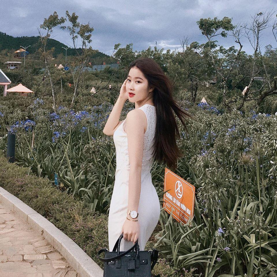 Đã tìm ra info gái xinh gây náo loạn mạng xã hội khi đi cổ vũ U23 Việt Nam tại Mỹ Đình-6