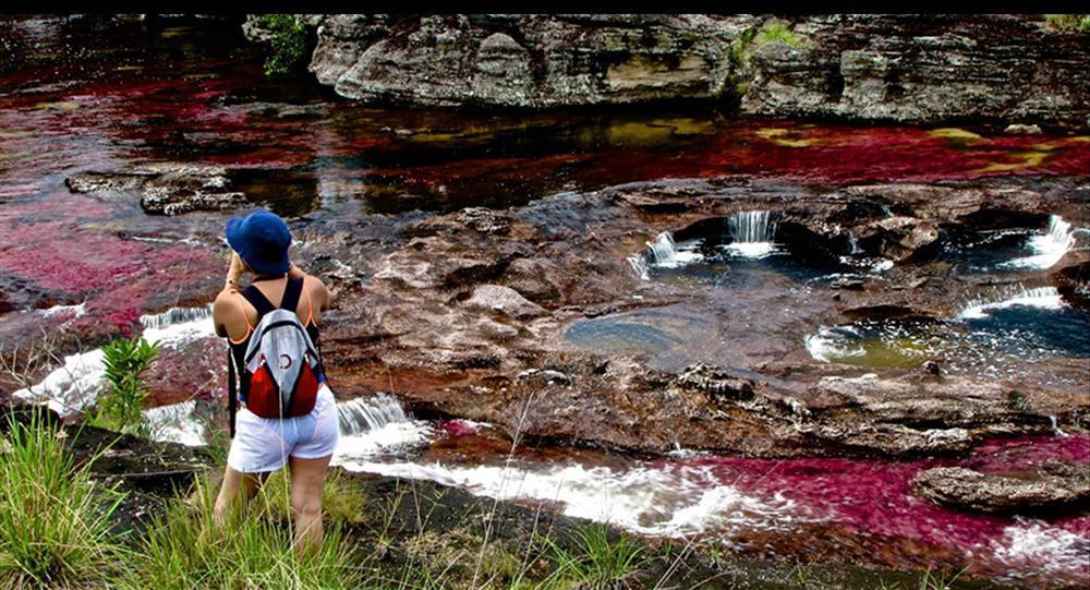 Dòng sông đẹp nhất thế giới chảy xuống từ thiên đường-6