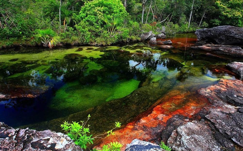 Dòng sông đẹp nhất thế giới chảy xuống từ thiên đường-8