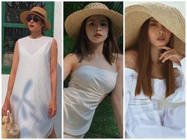 Tăng Thanh Hà, Chi Pu lăng xê mũ cói rộng vành cho mùa hè