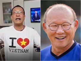 MC Lại Văn Sâm hát chế 'Tóc em đuôi gà' cực hài cực máu lửa tặng HLV Park Hang-seo sau chiến thắng lịch sử