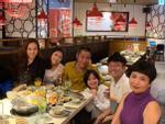 Công Lý cùng bạn gái và vợ cũ tổ chức sinh nhật cho con gái