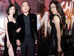 Thu Trang và Diệu Nhi diện đầm bốc lửa ra mắt phim 'Chị Mười Ba'