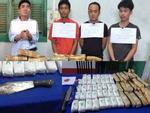 Phá đại án 'khủng' 110.000 viên ma túy, 1 trinh sát biên phòng bị đâm trọng thương