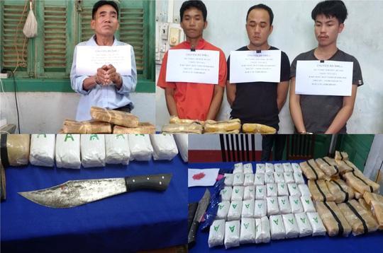 Phá đại án khủng 110.000 viên ma túy, 1 trinh sát biên phòng bị đâm trọng thương-1
