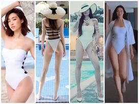 Chiếc monokini này có gì đặc biệt mà từ Hà Hồ, Đỗ Mỹ Linh, BB Trần... cho đến Phương Khánh cứ chết mê diện đi diện lại