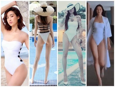 Chiếc monokini này có gì đặc biệt mà từ Hà Hồ, Đỗ Mỹ Linh, BB Trần... cho đến Phương Khánh cứ chết mê diện đi diện lại-9