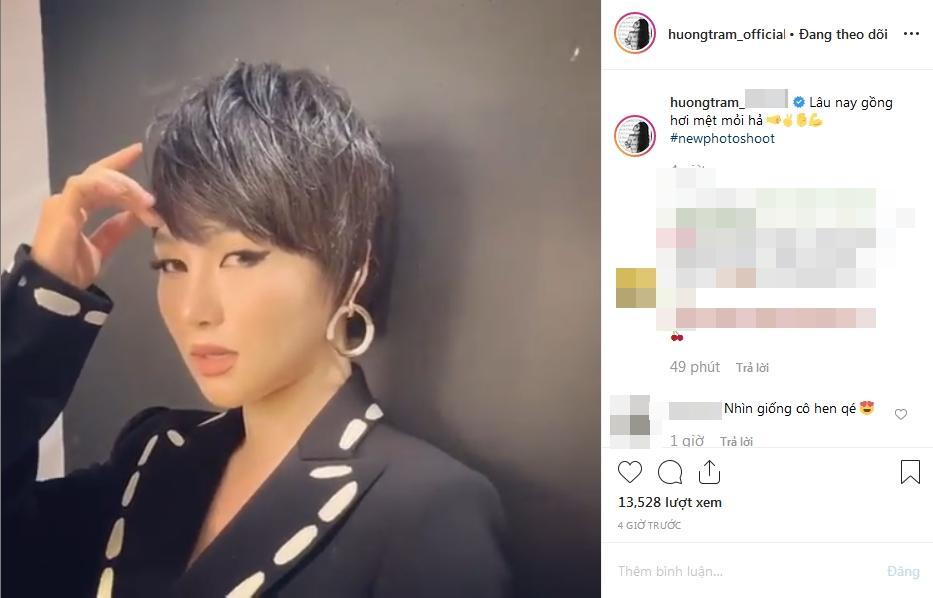 Hôm qua giống hệt Quỳnh Anh Shyn, hôm nay Hương Tràm lại gây sốc với gương mặt lai tạp HHen Niê và Sơn Tùng M-TP-3