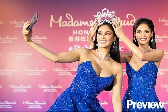 Người thật và tượng sáp giống đến kinh ngạc, đố bạn chỉ chính xác ai là Hoa hậu Hoàn vũ Pia-7