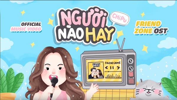 Sau màn khoe giọng trong Friend Zone, Chi Pu lập tức tung MV nhạc phim phiên bản tiếng Việt-2