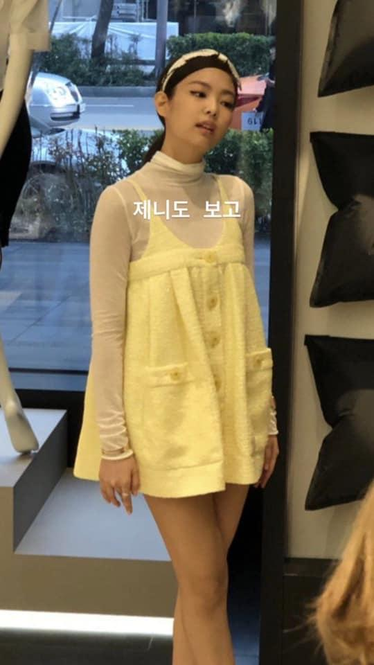 Hết thời con cưng của stylist, Jennie (Black Pink) gây ngán ngẩm với bộ trang phục chẳng khác nào quả cầu lông-2