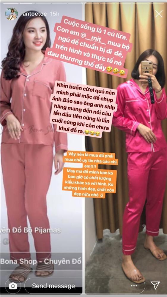 Em của hot girl nổi tiếng đặt online bộ pijama để đi đẻ cho sang, khi nhận hàng chỉ biết kêu trời-2
