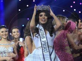 Hoa hậu Peru 2019 bị truất ngôi vì bê bối say xỉn