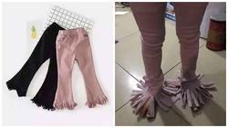 Đỉnh cao 'khóc không thành tiếng' vì mua hàng online: Đặt mua quần ống loe nhận về chiếc chổi xể
