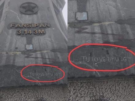 Du khách vẽ bậy trên đỉnh Fansipan gây phẫn nộ cộng đồng mạng