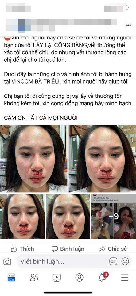 Cô gái bị đánh ghen kinh hoàng ở Vincom một mực kêu oan không cướp chồng, người vợ tung tin nhắn phản đòn chối nữa đi-4