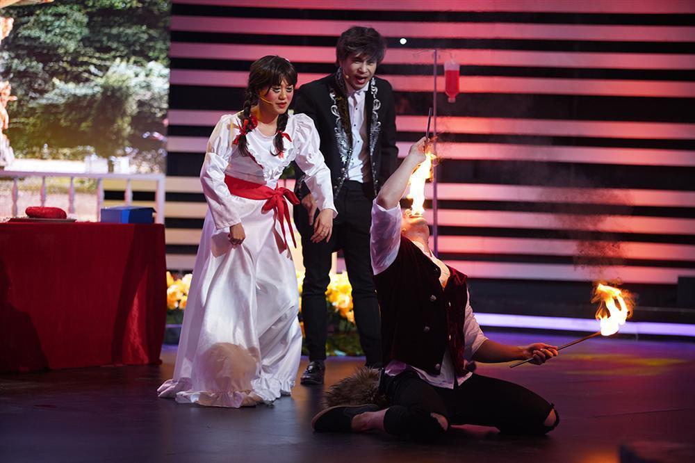 Lê Dương Bảo Lâm và Trương Thế Vinh tương tàn vì tranh giành tình yêu của Annabelle Lâm Vỹ Dạ-1