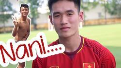 'Cậu ấm' của U23 Việt Nam phản ứng gì khi được hỏi: 'Có thích ngủ với Đức Chinh không'