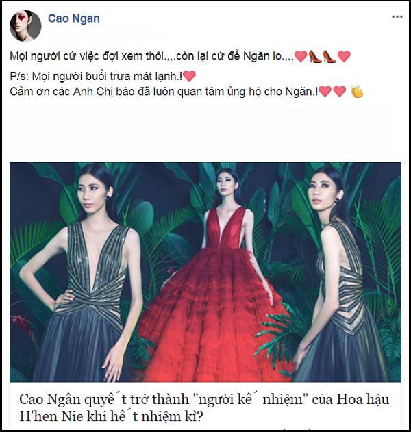 Từng tuyên bố kế nhiệm HHen Niê, thánh hài Cao Ngân bị réo tên ngay thời khắc Hoa hậu Hoàn vũ Việt Nam 2019 khởi động-4
