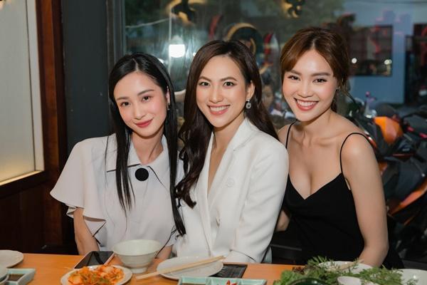 3 mỹ nhân Lan Ngọc - Jun Vũ - Phương Anh Đào bất ngờ đọ sắc, fan bối rối không biết về team ai-2