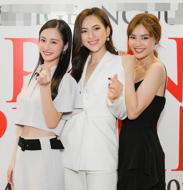 3 mỹ nhân Lan Ngọc - Jun Vũ - Phương Anh Đào bất ngờ đọ sắc, fan bối rối không biết về team ai-3