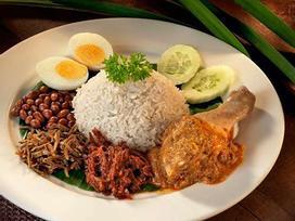 Tự tay làm món cơm dừa gà rán thơm phức, đúng vị Malaysia