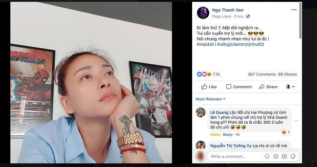 Ngô Thanh Vân tuyển trợ lý, fans đồng loạt kêu tên Mỹ Tâm-1