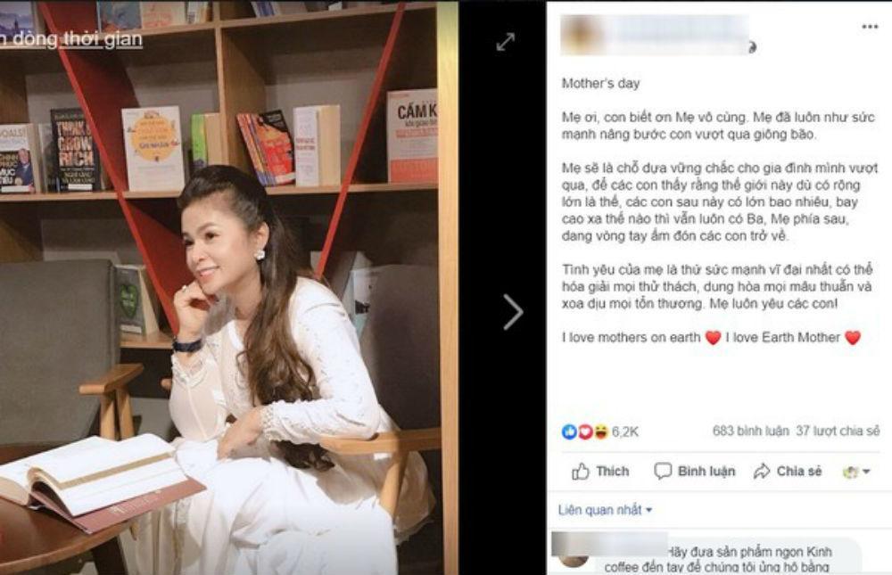 Lê Hoàng Diệp Thảo viết tâm thư gửi mẹ khiến nhiều người cảm động-2