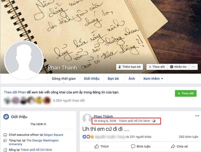 Giữa tâm điểm đau khổ vì tình đến mức khóa Facebook, động thái mới của thiếu gia Phan Thành khiến người xem bất ngờ-2