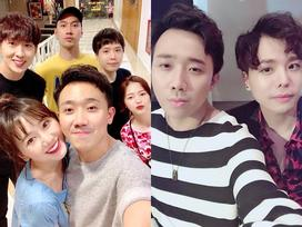 Fan phát hiện điều bất ngờ trong ảnh vợ chồng Trấn Thành đi chơi cùng hội bạn