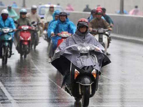 Dự báo thời tiết 1/4: Miền Bắc chuyển lạnh, mưa to nhiều nơi-1