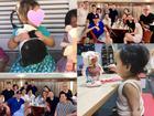 Vợ chồng Tăng Thanh Hà tổ chức tiệc mừng sinh nhật hai con nhưng vẫn quyết giấu mặt