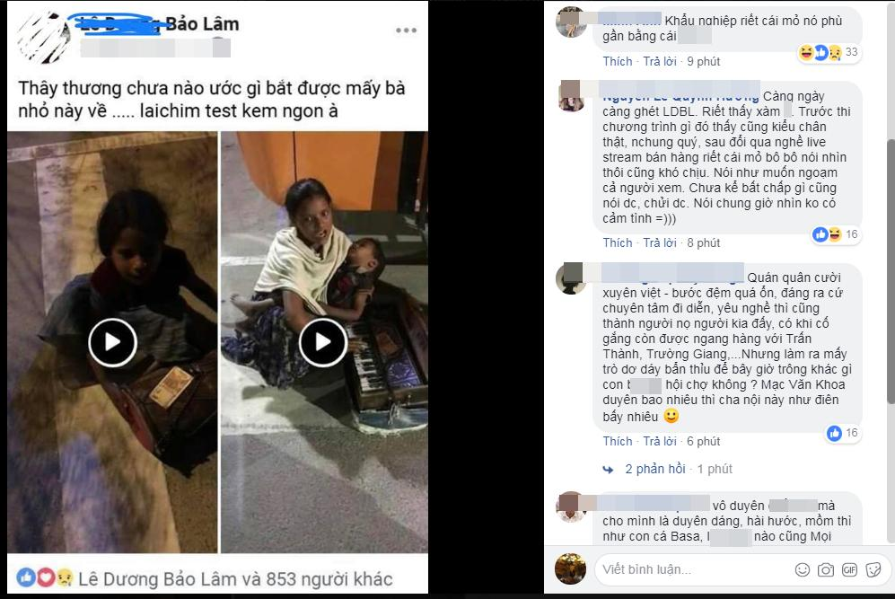 Muốn bắt trẻ em cơ nhỡ về để dễ livestream bán kem ngon, Lê Dương Bảo Lâm bị chửi sấp mặt vì vô nhân tính-2