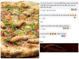 Lại xuất hiện pizza đuông dừa tại Hà Nội khiến dân mạng hoang mang
