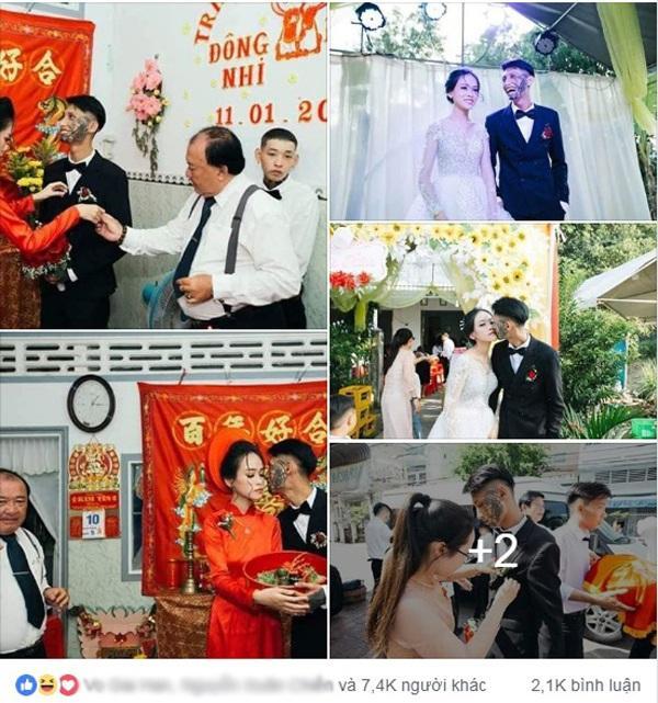 Xôn xao đám cưới của chú rể tha thu kín mặt chiếm trọn spotlight ngày Cá tháng tư-1