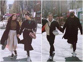 Tóc Tiên, Hoàng Touliver du lịch Hàn Quốc cùng vợ chồng Hạt Mít