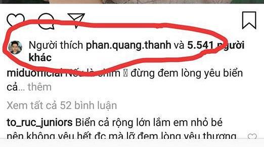 Khóa Facebook nhưng Phan Thành vẫn gây xôn xao khi lần 2 âm thầm like ảnh tình cũ Midu-2
