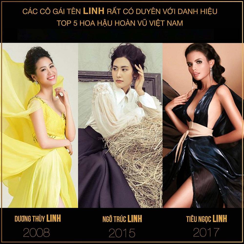 Trùng hợp giật mình 3 mùa Hoa hậu Hoàn vũ Việt Nam: Top 5 luôn có người đẹp tên Linh, top 10 luôn có mỹ nhân tên Ngọc-1
