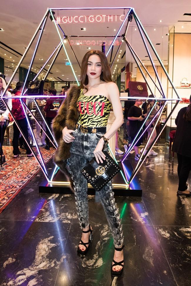 Đụng hàng bodysuit Gucci với đàn chị Hà Hồ - Huyền Baby, Thiều Bảo Trâm chẳng lép vế nhờ cách mix ấn tượng-7