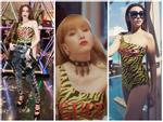 'Đụng hàng' bodysuit Gucci với đàn chị Hà Hồ - Huyền Baby, Thiều Bảo Trâm chẳng lép vế nhờ cách mix ấn tượng