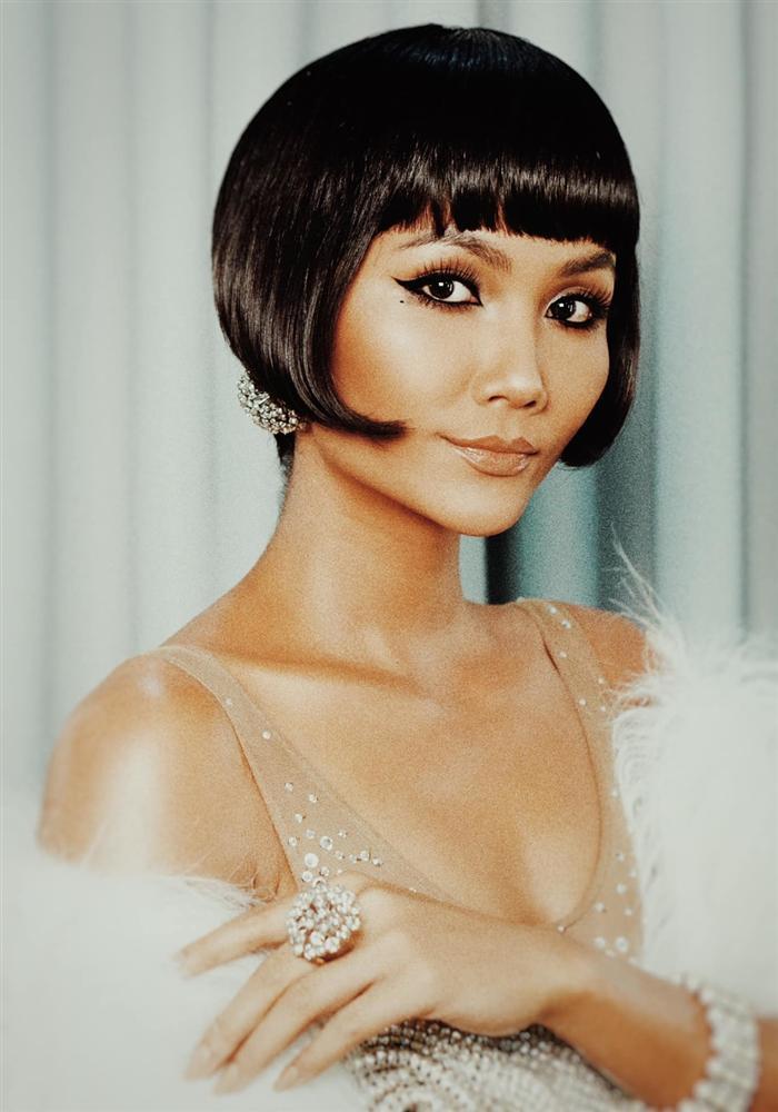 Chán tóc tém tomboy, Hoa hậu HHen Niê gây thích thú với kiểu tóc bob xinh tựa búp bê-5