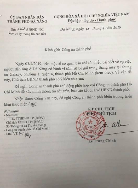 Đà Nẵng chỉ đạo Công an xác minh thông tin cựu phó viện trưởng VKSND sàm sỡ bé gái 7 tuổi trong thang máy-2